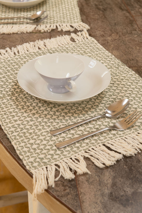 Diamond Guanabana Organic Cotton Placemat Zuahaza