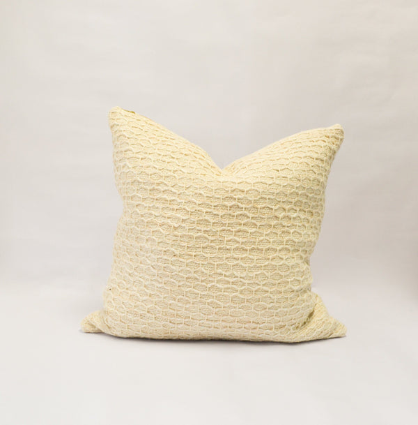 Diamond Guanabana Organic Cotton Throw Pillow Cover Zuahaza