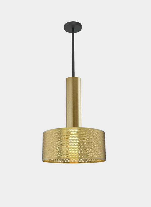 Dounia Home Alula Pendant Light - Brass Lighting Dounia Home