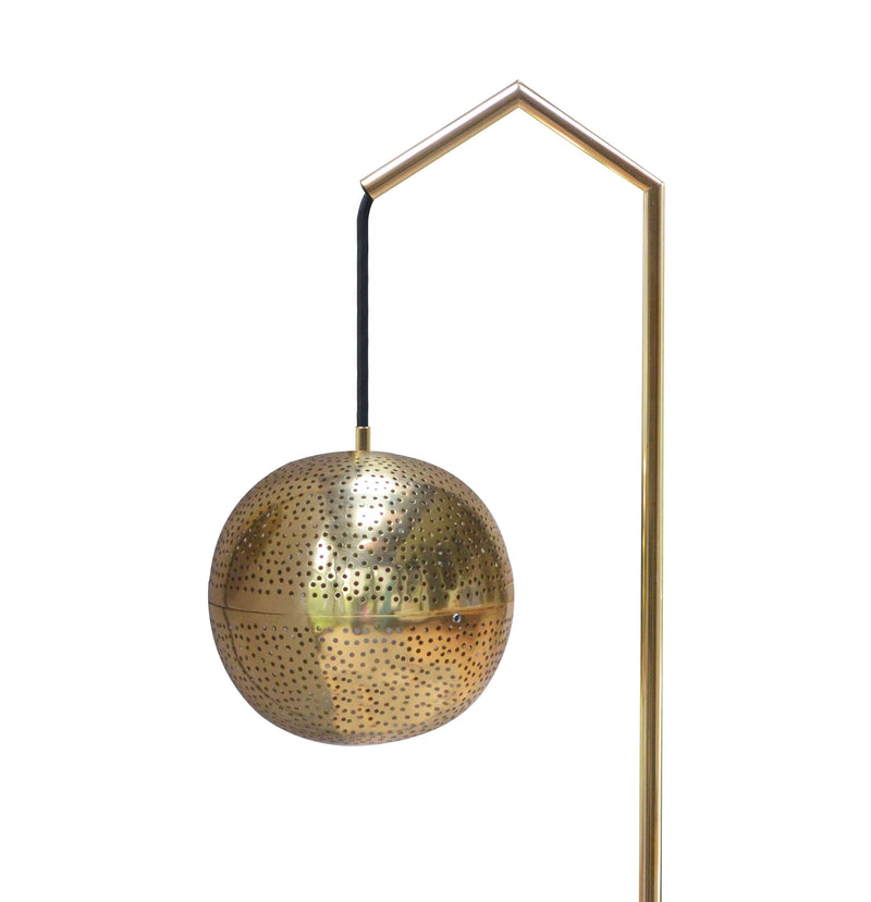 Dounia Home Amur Floor Lamp - Brass Floor lamp Dounia Home