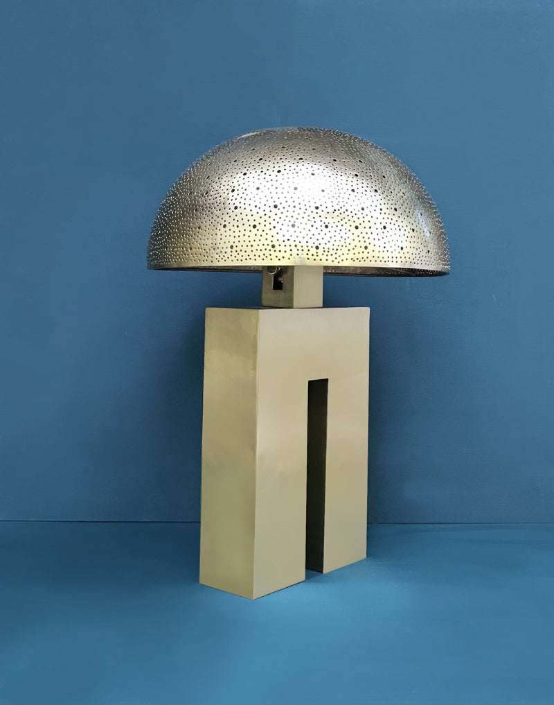 Dounia Home Amur Table Lamp - Copper Table Lamp Dounia Home