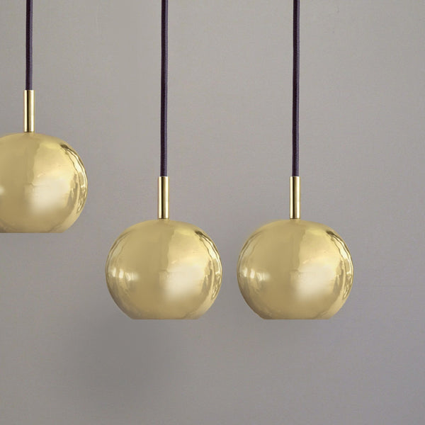 Dounia Home Mishal Pendant Light - Brass Pendant light Dounia Home