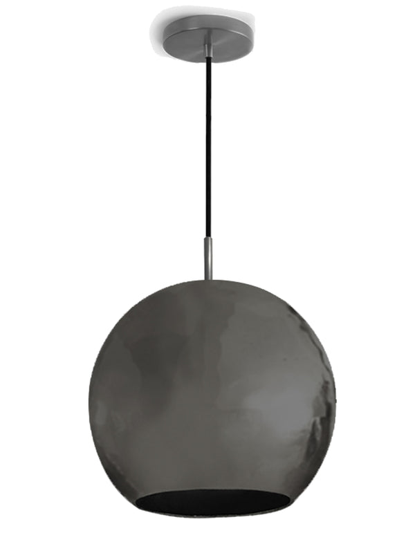 Dounia Home Mishal Pendant Light - Gunmetal Pendant light Dounia Home