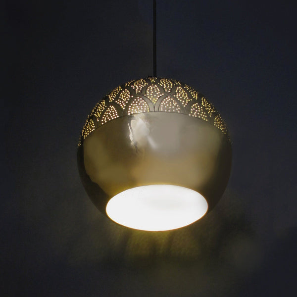 Dounia Home Nur Pendant Light - Brass Pendant light Dounia Home