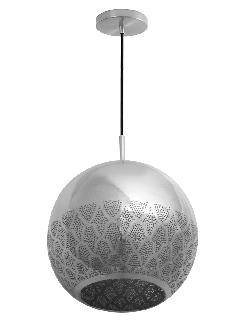 Dounia Home Nur Reversed Pendant Light - Copper Pendant light Dounia Home