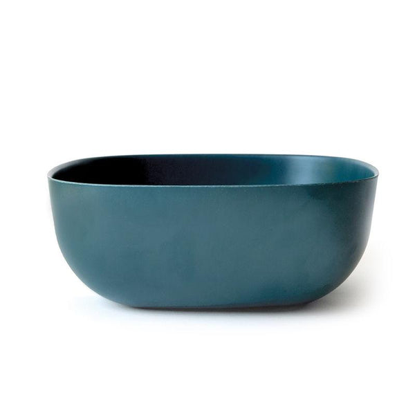 EKOBO Gusto Large Salad Bowl + Salad Servers - Blue Abyss EKOBO