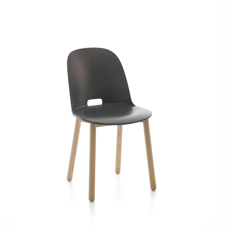 Emeco Alfi Chair High Back - Dark Gray Emeco
