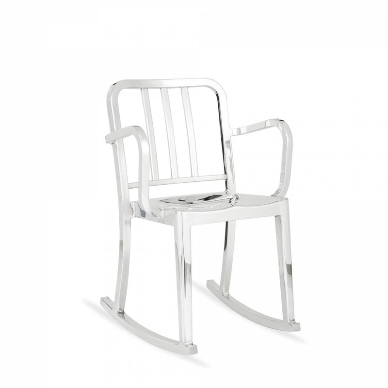 Emeco Heritage Rocking Armchair Emeco Polished