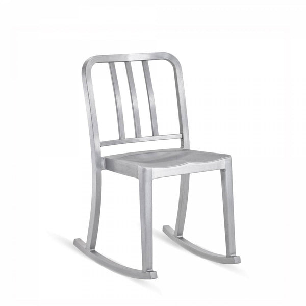 Emeco Heritage Rocking Chair Emeco Brushed