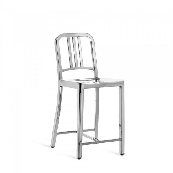 Emeco Navy® Counter Stool Emeco Polished