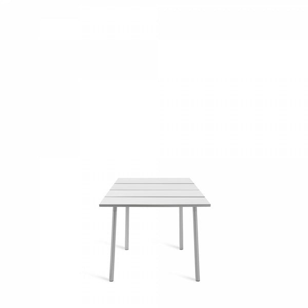 Emeco Run Table- Clear Aluminum Emeco 32""