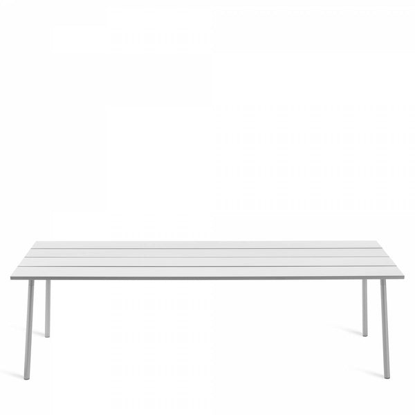 Emeco Run Table- Clear Aluminum Emeco 96""