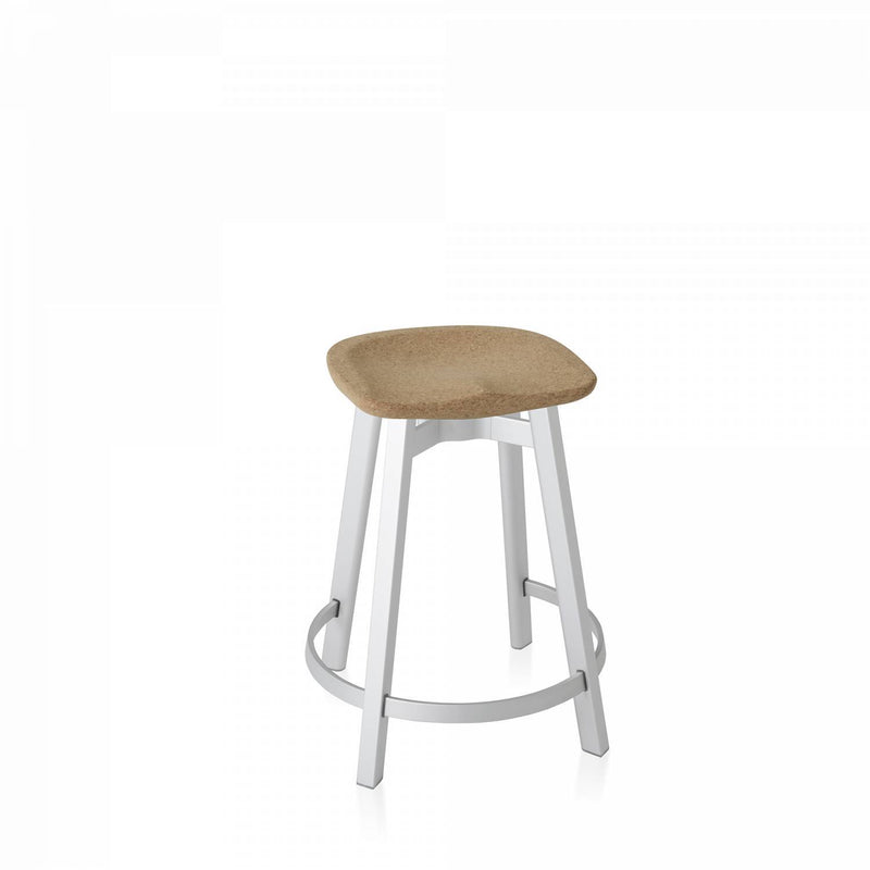 Emeco Su Counter Stool Emeco Cork Natural Anodized