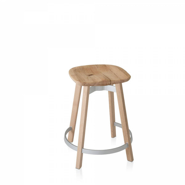 Emeco Su Counter Stool Furniture Emeco Reclaimed Oak Wood