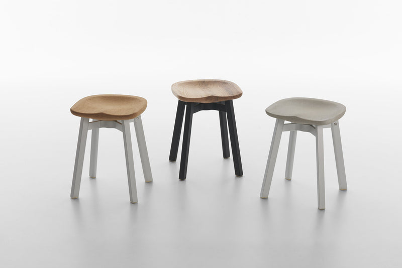 Emeco Su Small Stool - Charcoal Furniture Emeco