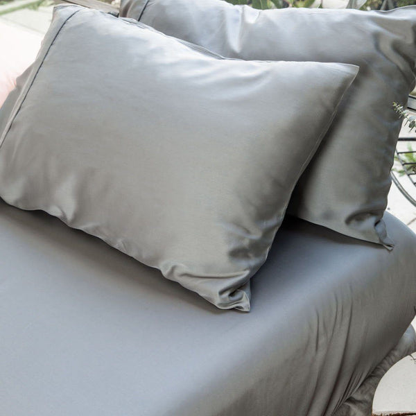 Ettitude Bamboo Charcoal Pillowcase Set Bedding Ettitude