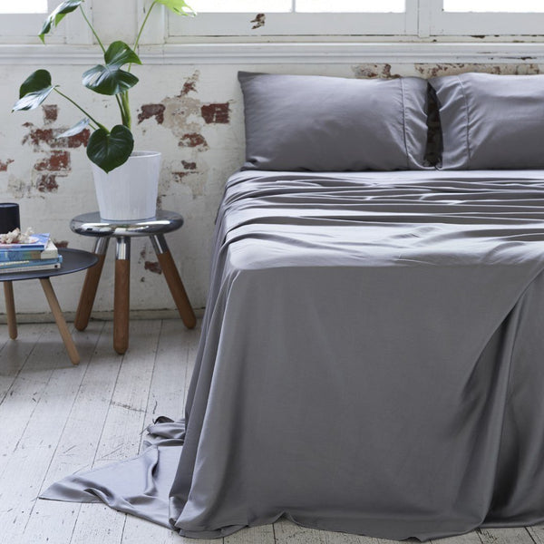 Ettitude Bamboo Charcoal Sheet Set Bedding Ettitude