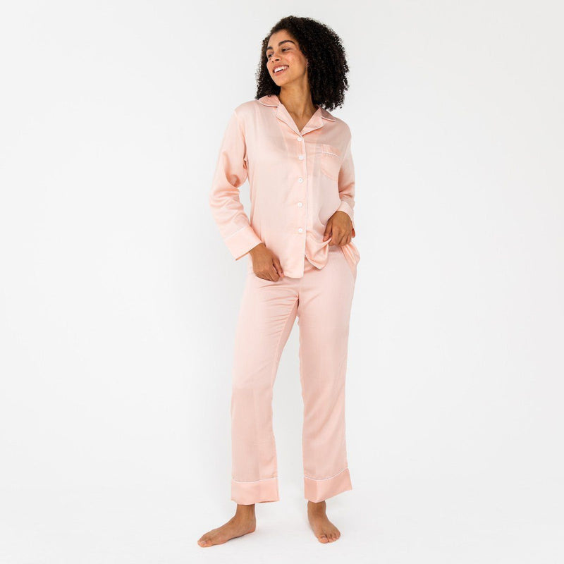 Ettitude Bamboo Lyocell PJ Pants - Cloud Pink Clothing Ettitude Cloud Pink S
