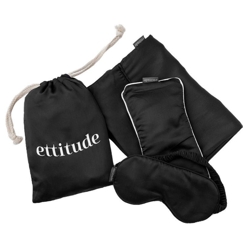 Ettitude Bamboo Lyocell Travel Kit Accessory Ettitude
