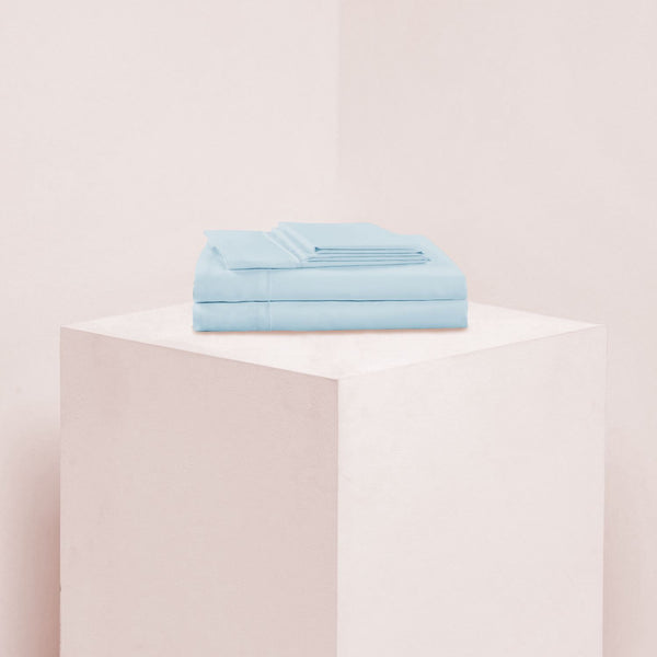Eucalypso Tencel Classic Sheet Set - Light Blue Eucalypso