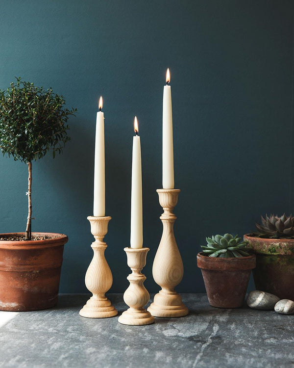 Farmhouse Pottery Essex Candlestick - Natural Farmhouse Pottery