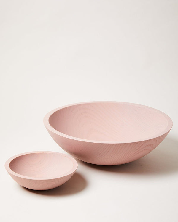 Farmhouse Pottery Farmers Painted Bowls - Blush Wood Farmhouse Pottery