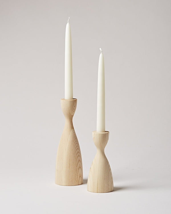 Farmhouse Pottery Pantry Candlestick - Natural Farmhouse Pottery