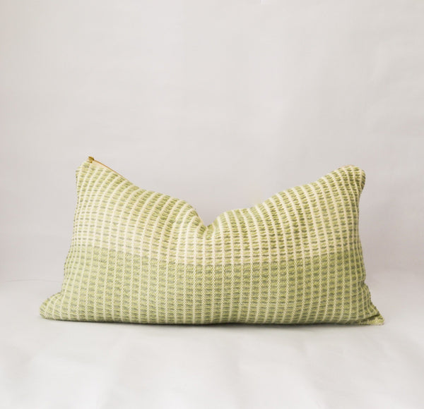 Feijoa Organic Cotton Lumbar Pillow Cover Zuahaza