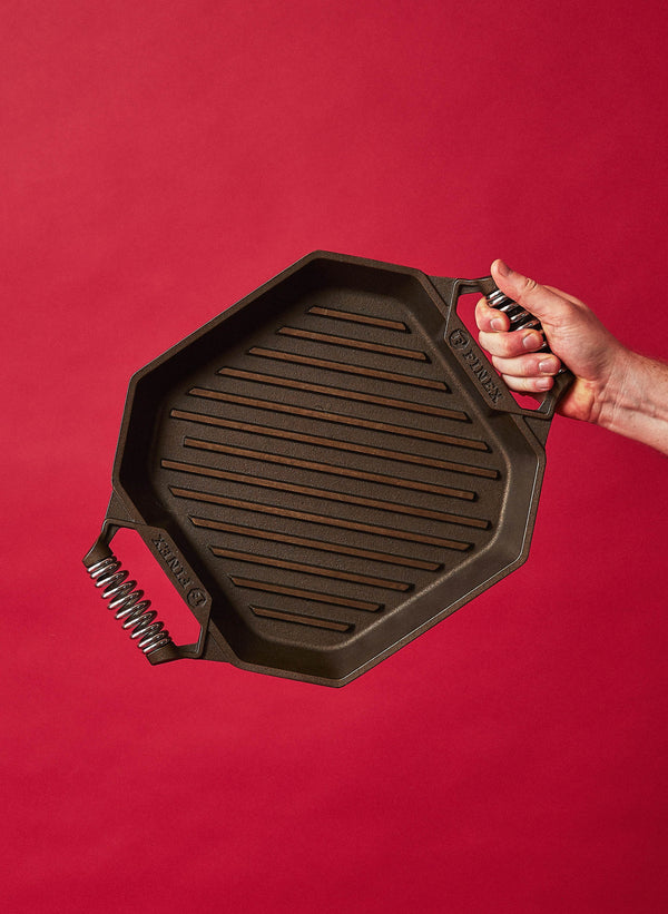 "FINEX Cast Iron 12"" Grill Pan FINEX"