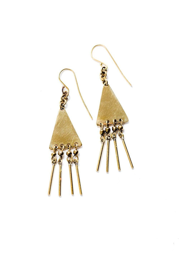 Fringe Earrings Abby Alley