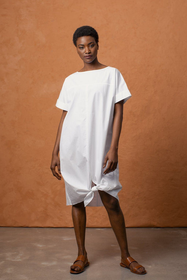 Grammar NYC The Complement Dress - White Dresses Grammar NYC