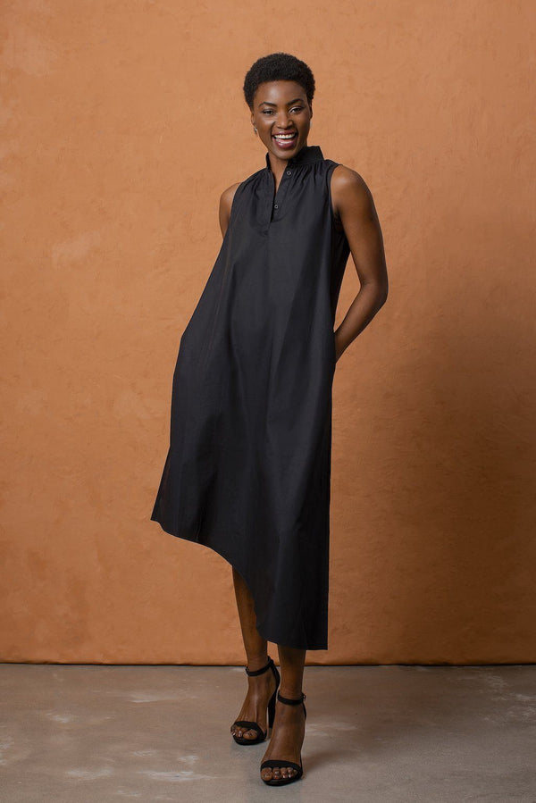Grammar NYC The Simile Dress - Black Dresses Grammar NYC