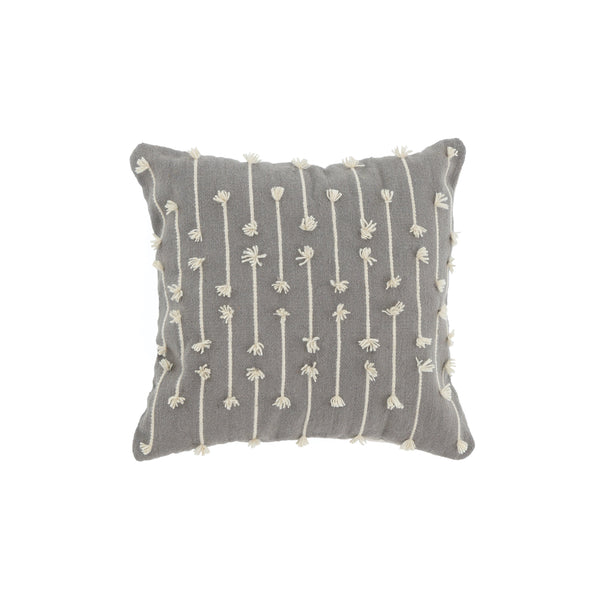 Gray Sediments Pillow Cover Cushions Kiliim