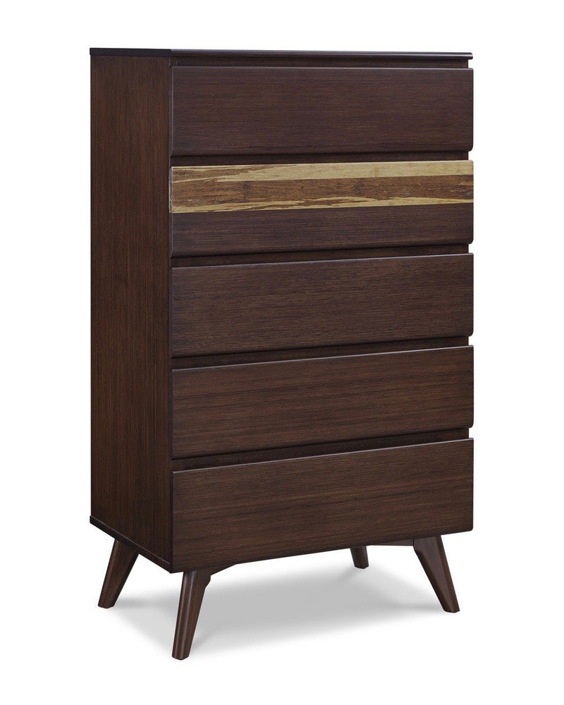Greenington Azara Five Drawer Chest, Sable Greenington