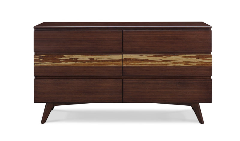 Greenington Azara Six Drawer Dresser, Sable Greenington