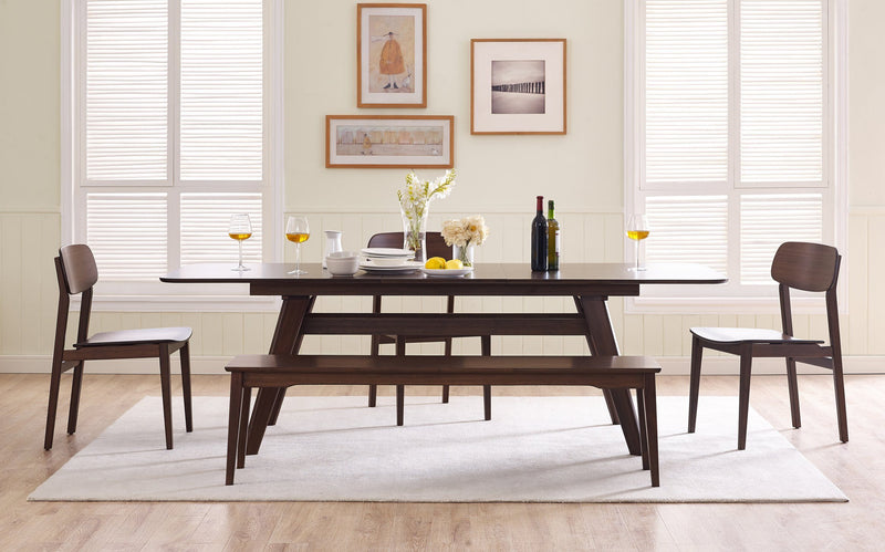 "Greenington Currant 72 - 92"" Extendable Dining Table, Black Walnut Greenington"