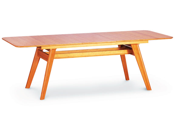 "Greenington Currant 72 - 92"" Extendable Dining Table, Caramelized Greenington"