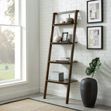 Greenington Currant Leaning Bookshelf, Black Walnut Greenington -5174363258943