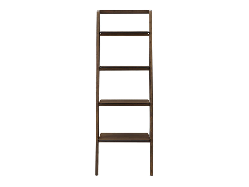 Greenington Currant Leaning Bookshelf, Black Walnut Greenington