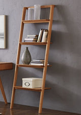 Greenington Currant Leaning Bookshelf, Caramelized Greenington -5531760721983
