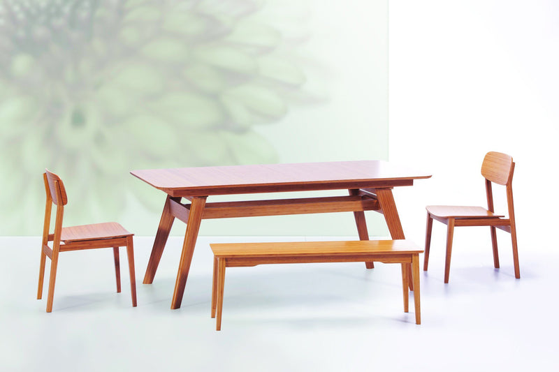 Greenington Currant Long Bench, Caramelized Greenington