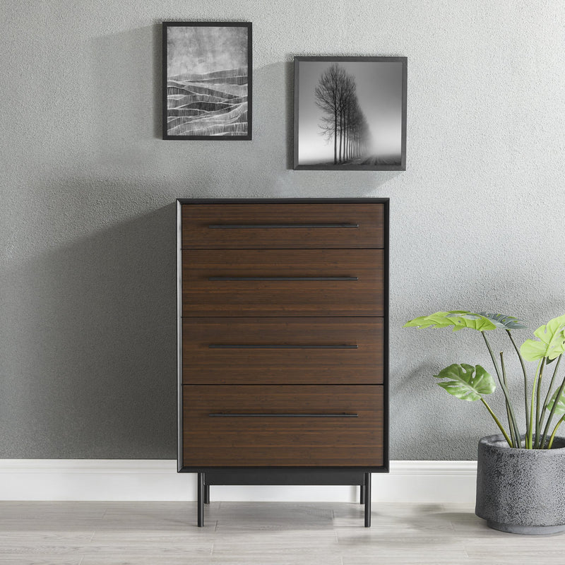 Greenington Park Avenue Four Drawer High Chest Dresser Greenington