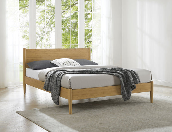 Greenington Ria Platform Bed - Caramelized Greenington