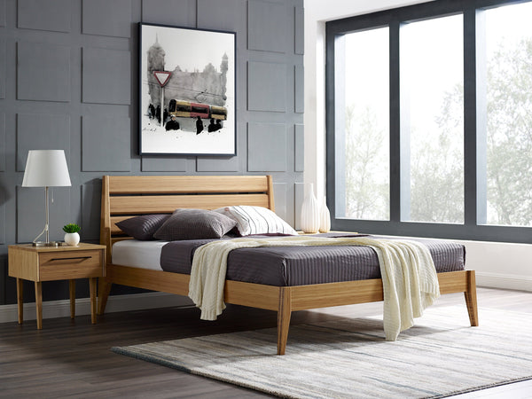 Greenington Sienna Eastern King Platform Bed, Caramelized Greenington