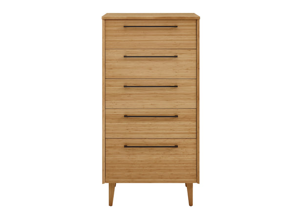 Greenington Sienna Five Drawer Chest, Caramelized Greenington