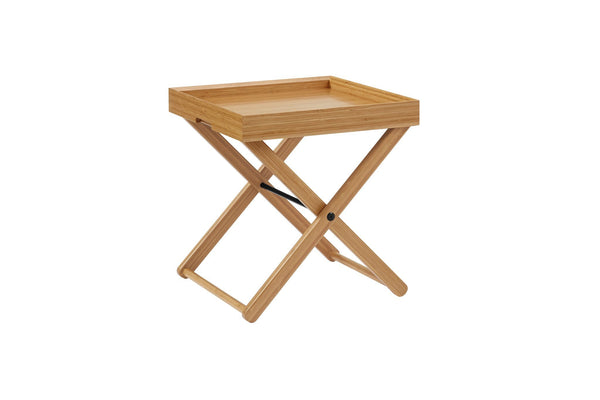 Greenington Teline Tray Table, Caramelized Greenington