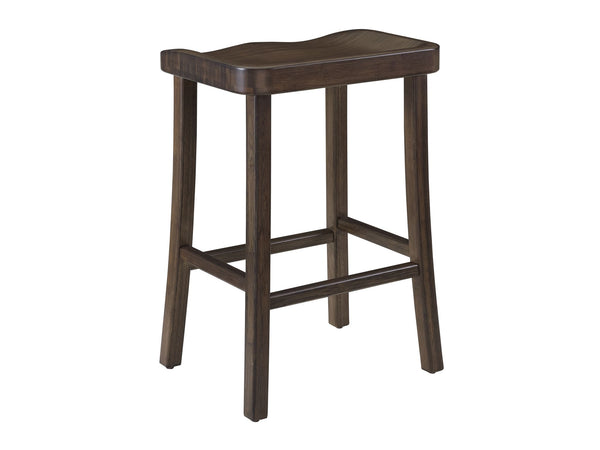 "Greenington Tulip 26"" Counter Height Stool, Black Walnut Greenington"