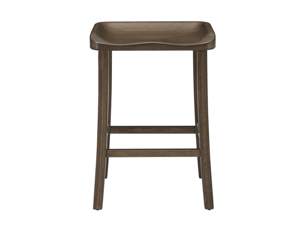 "Greenington Tulip 30"" Bar Height Stool, Black Walnut Greenington"