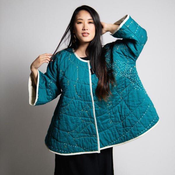 Haptic Lab Constellation Coat Quilt Cloak Haptic Lab
