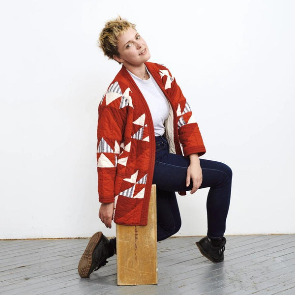 Haptic Lab Flying Geese Quilt Coat Quilt Coat Haptic Lab